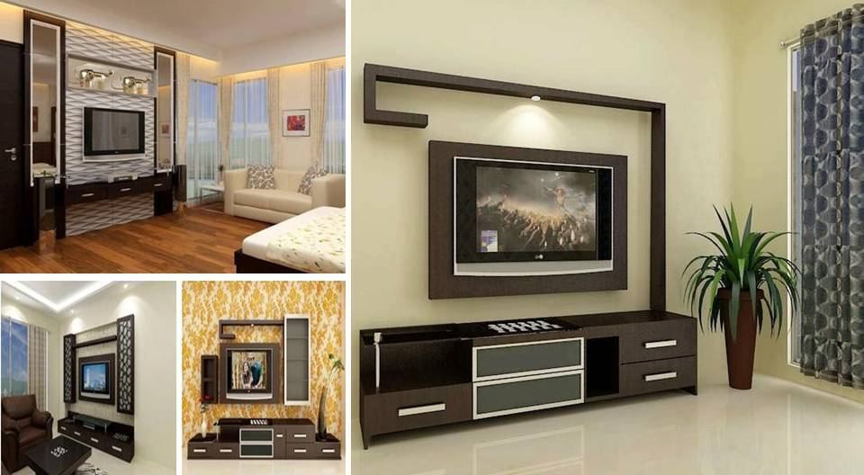 20 best flat screen tv stand and wall mount designs for