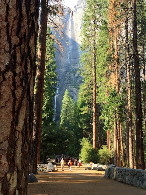 Kaskada Yosemite