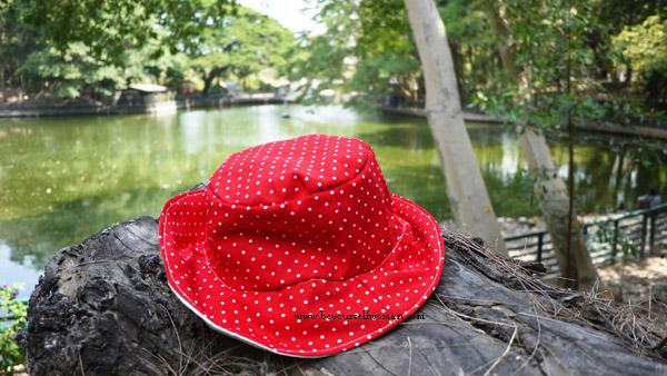 topi pancing bucket hat