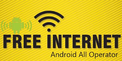 Internet gratis di android