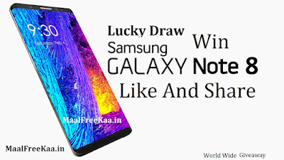 Lucky Draw To Win Smartphone