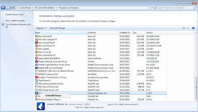 Cara Uninstall Program Aplikasi Pada Sistem Operasi Windows Dengan Benar