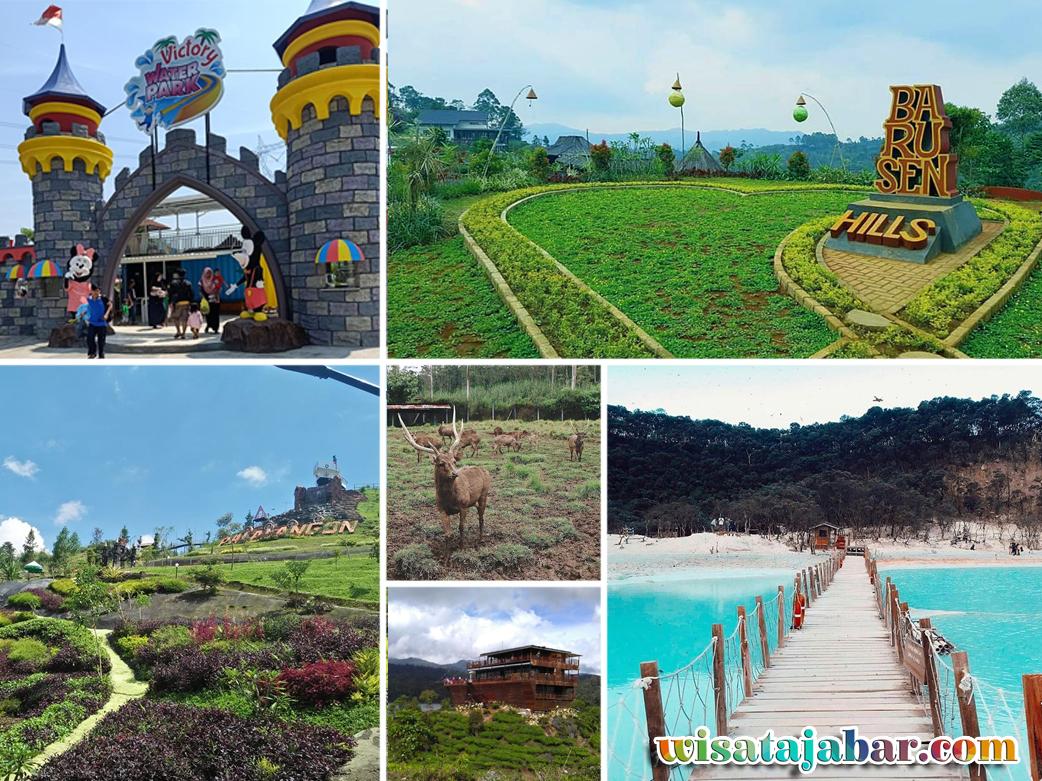 Daftar Destinasi Wisata Di Kawasan Ciwidey Dan Sekitarnya