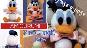 Tutorial Amigurumi Pato Donald Baby