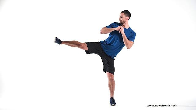 Side Kick Squat