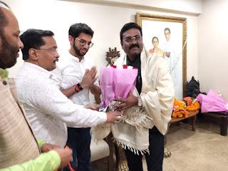 #JaunpurLive : चंद्रशेखर आजाद से मिले युवा भीम सेना समिति के संस्थापक विनय जैसवार