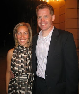 Doyle Devereux with his wife Meredith Merz