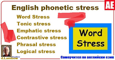 What is stress in English?