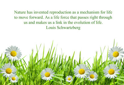 quotes tim nature has invented reproduction as a mechanism for life tomorrow forward.