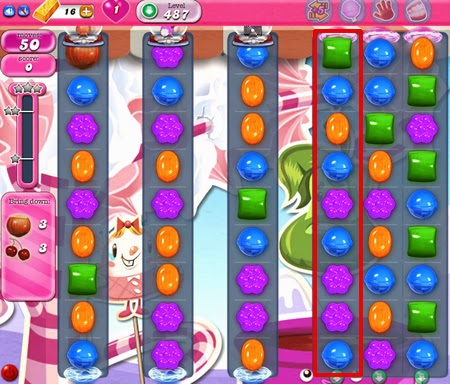 Candy Crush Saga 487