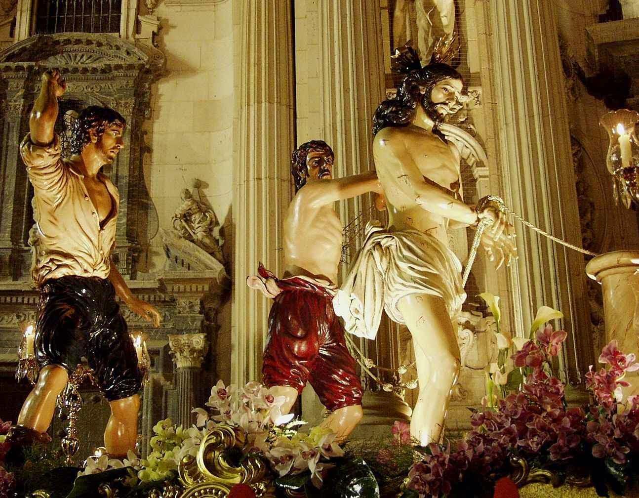 Flagelação, Confraria do Ssmo. Cristo da Caridade, Múrcia, Espanha