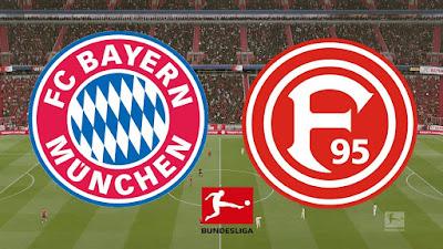 مباراة بايرن ميونخ وفورتونا دوسلدورف بدون تقطيع