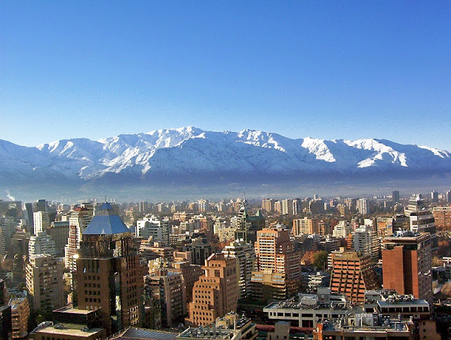 Clima em Santiago no mês de julho