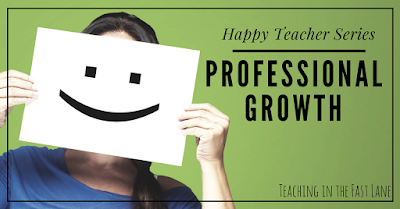 The why of professional development and how it can make you a happier teacher! Included: a list of information ways to continue to grow your teacher skill set!