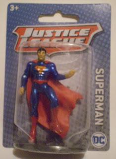 Miniature Superman Figurine