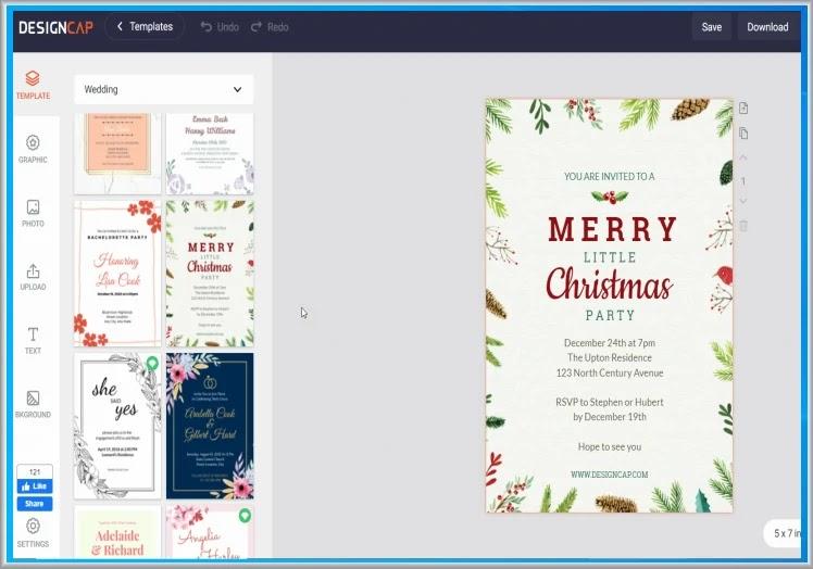 DesignCap : Δημιουργήστε  αφίσες, διαφημιστικά μπάνερ, επαγγελματικές κάρτες και φυλλάδια σε λίγα λεπτά