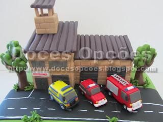 bolos decorados carros