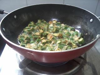 stir fry okra