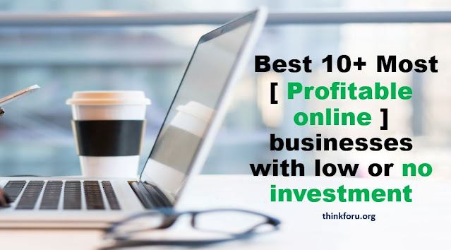 Unique online business ideas