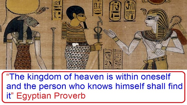Ancient Egypt Proverbs and Sayings