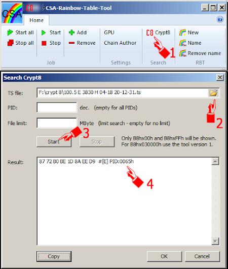 cara Mencari Crypt8 dari File ts