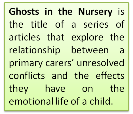 Ghosts In The Nursery 1 Primary Carer Behaviours And Subsequent Infant Responses