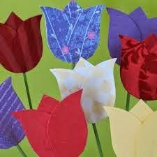 Para hacer tulipanes.