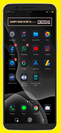 Download Tema iOS 14 Dark Untuk Oppo ColorOs