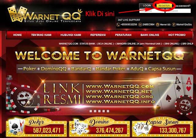 Cara Daftar WarnetQQ