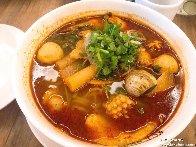 海鮮酸辣越南河粉