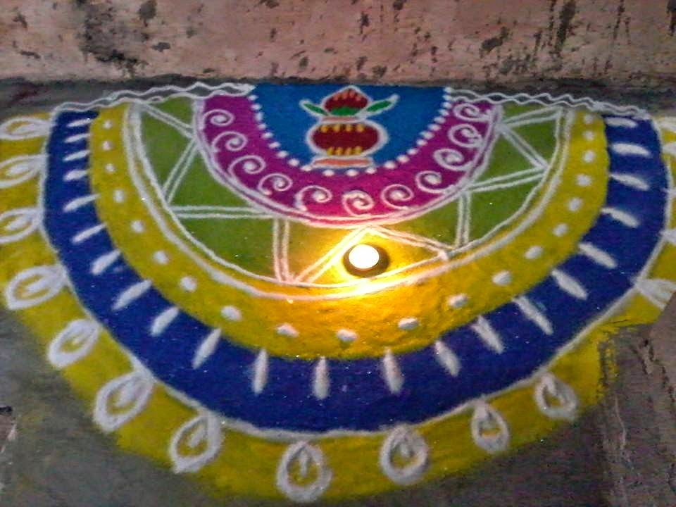 Rangoli Diwali Collection 4