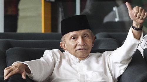Mendadak, Amien Rais Terima Kasih kepada Pemerintahan Jokowi