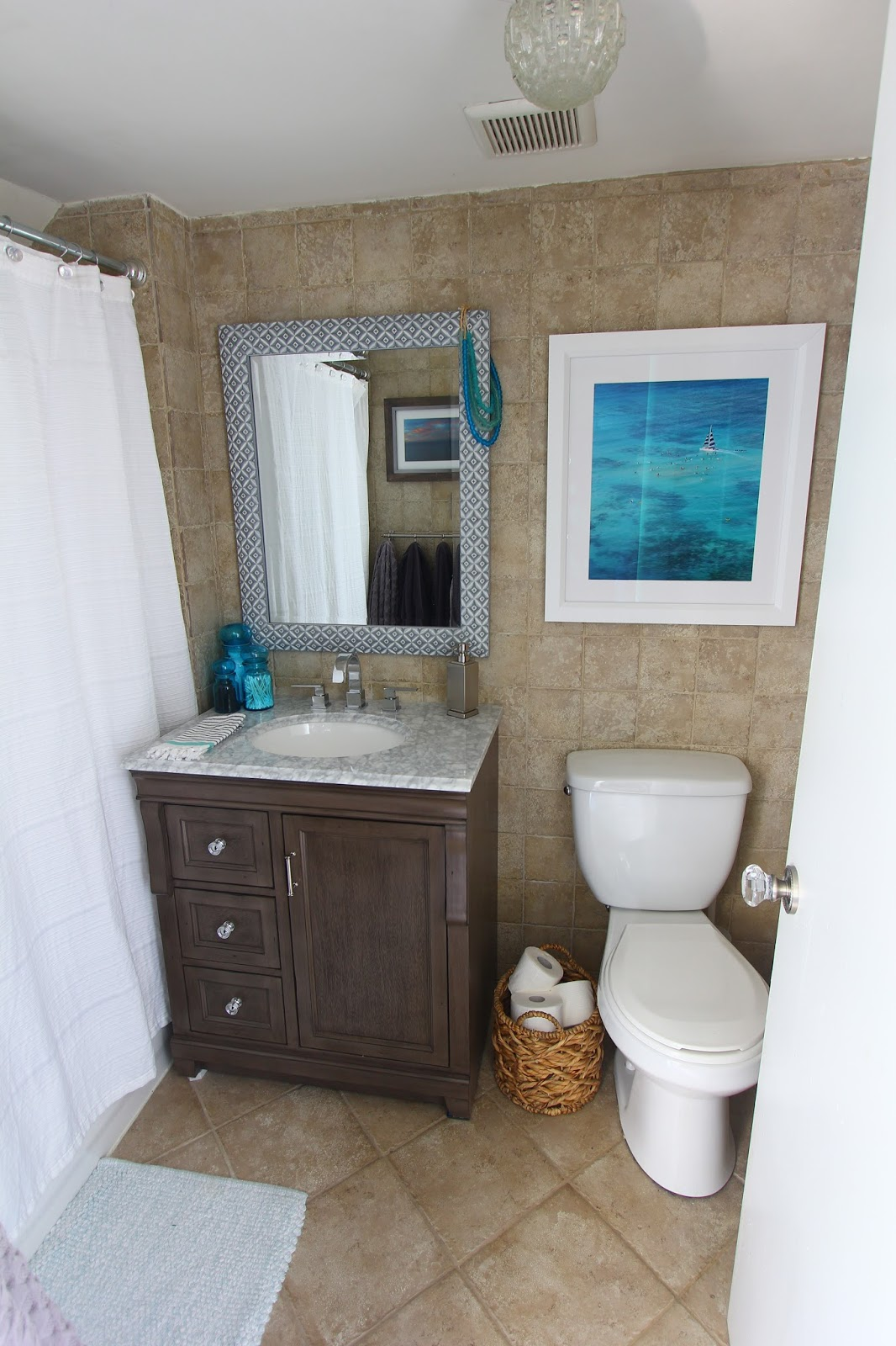 Marvelous I would love to rip out all the faux stone beige tile that covers my bathroom floor to ceiling and redo the whole shower area replace the toilet