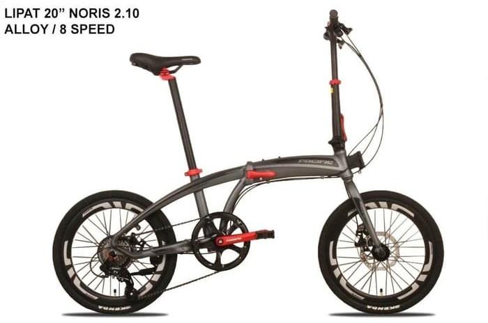 New Sepeda Lipat Pacific NORIS 2.10 FOLDING 20inch 8 speed