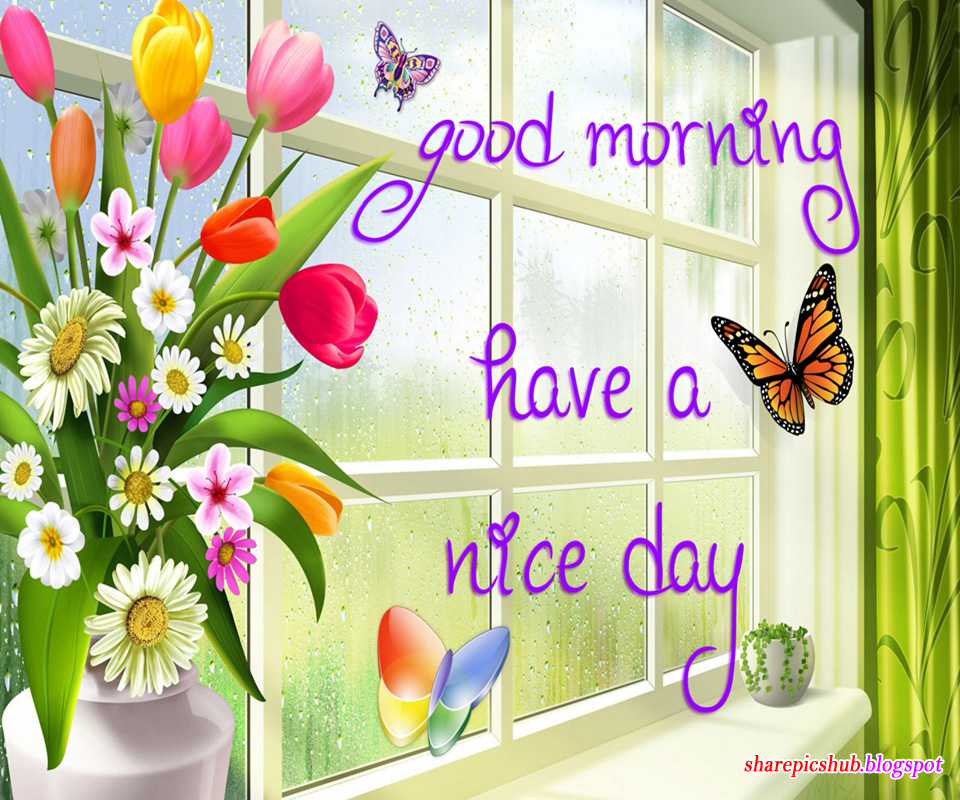 Good Morning Greeting Card For Facebook