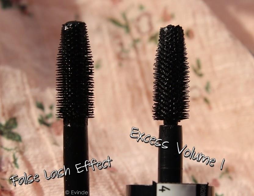 max factor excess volume mascara vs false lash effect