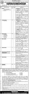 Arid Agriculture University Jobs 2020/21, www.uaar.edu.pk