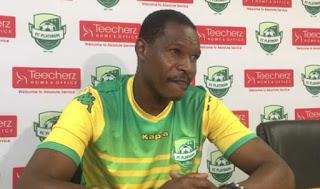 Lizwe Sweswe New FC Platinum Coach