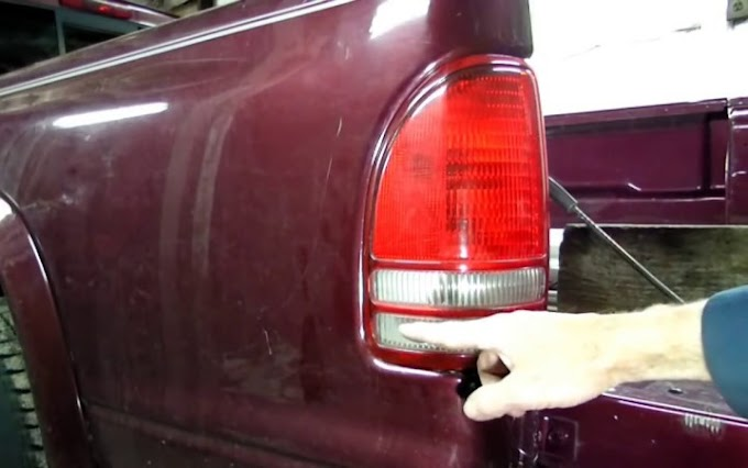 How to Remove a Dodge Dakota Truck Tail Light Assembly
