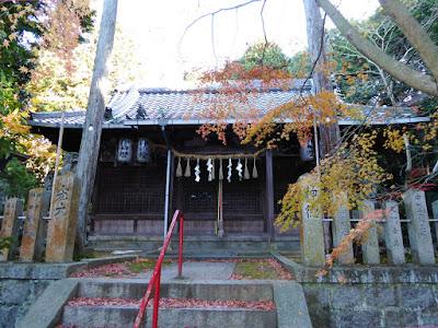 大阪府四條畷市 御机神社 拝殿
