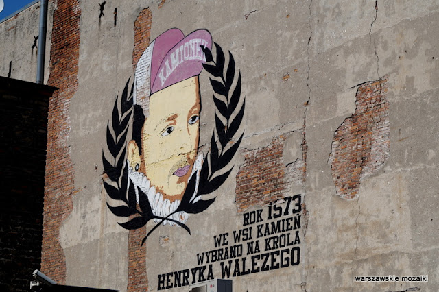 Warszawa Warsaw graffiti mural streetart Praga Kamionek