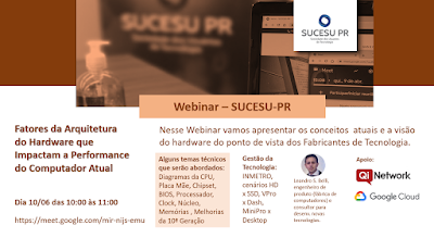Webinar - SUCESU Paraná