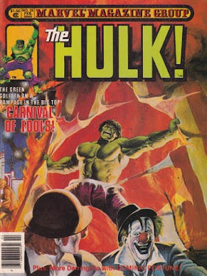Hulk magazine #25