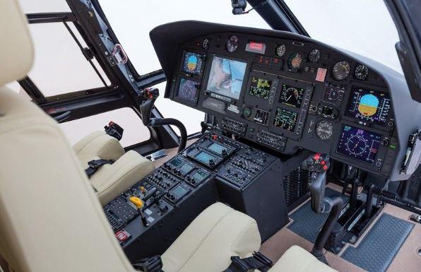 Eurocopter EC155 cockpit