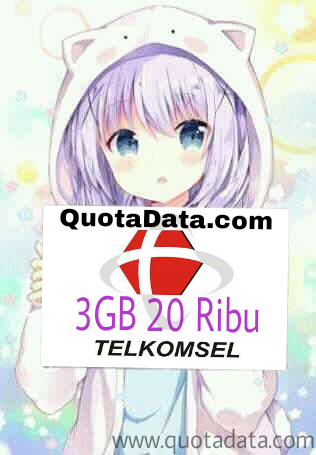 Ane pikir cukuplah segitu selama sebulan  30 Kuota Irit Telkomsel 2019 Mulai Dari 3GB 20rb Terbaru