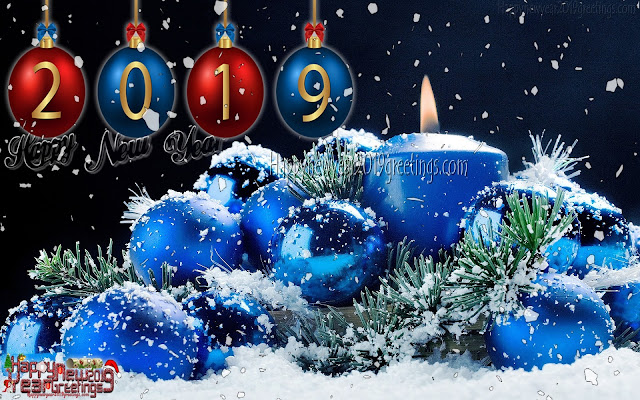 Happy New Year 2019 Colorful Background pictures Download Free