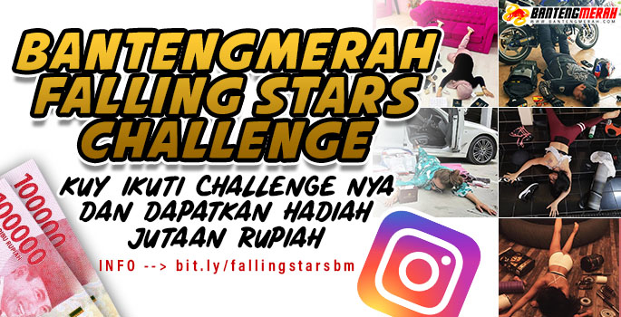 BANTENGMERAH.COM - FALLING STARS CHALLENGE