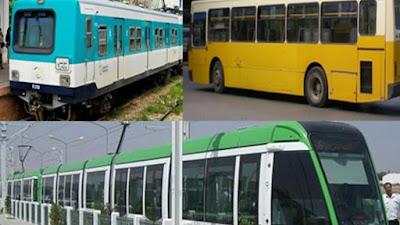 الزيادة في تعريفة النقل الجهوي و النقل بين المدن وبعض الخطوط الحضرية