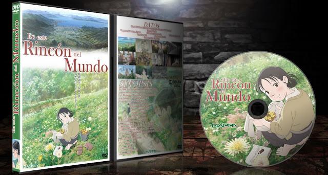 Kono Sekai no Katasumi ni (En este rincón del mundo) | Cover DVD | MEGA |