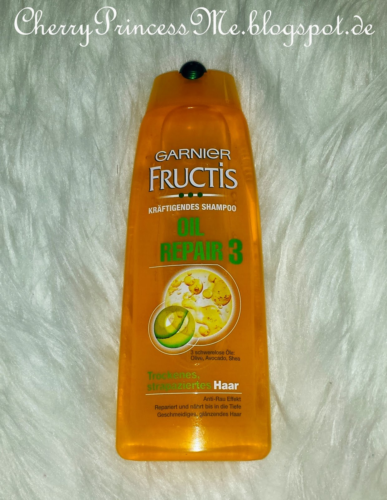 cherryprincess garnier fructis oil repair 3. Black Bedroom Furniture Sets. Home Design Ideas